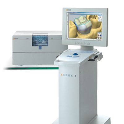 A CEREC machine used by our dentist in Acworth to provide same-day crowns
