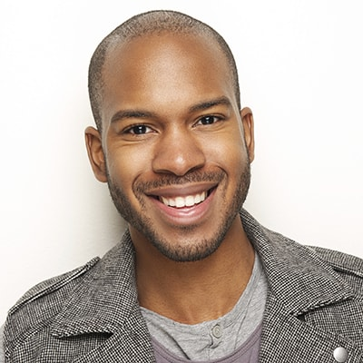A man smiling to show that we provide root canal therapy in our Acworth area practice