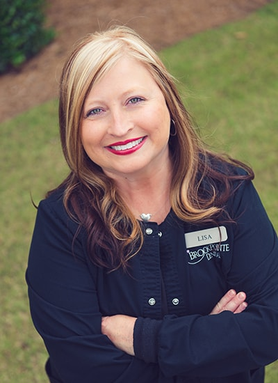 Lisa Neal, the Front Office Patient Coordinator for Brookpointe Dental
