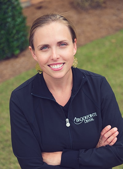 Jessica Empie, Registered Dental Hygienist at Brookpointe Dental - a Kennesaw GA dentist office