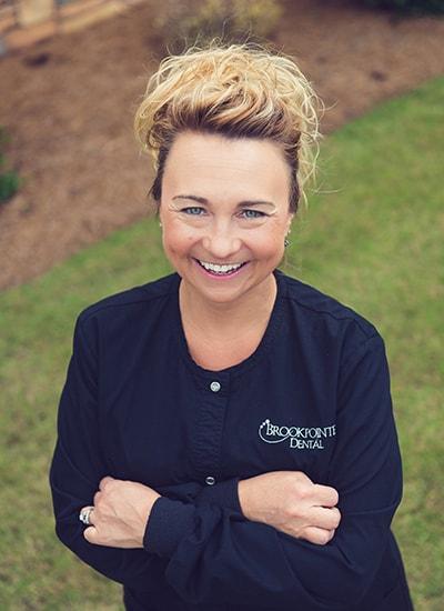 Amanda Hebert, Dental Hygienist at Brookpointe Dental- a Kennesaw GA dentist office