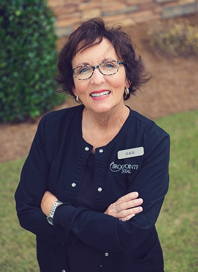 Gail White, Office Administrator for Brookpointe Dental - a kennesaw ga dentist office