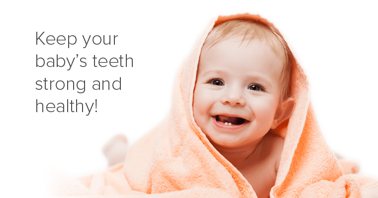 Why baby teeth matter.