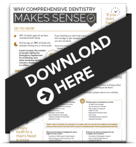 Download our educational infographic about Comprehensive Dentistry