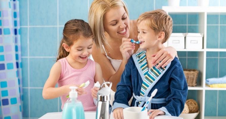 Comprehensive dentistry includes preventative measures like brushing twice daily